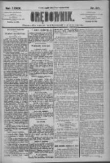 Orędownik: pismo dla spraw politycznych i społecznych 1909.09.17 R.39 Nr212