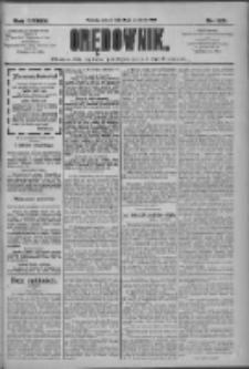 Orędownik: pismo dla spraw politycznych i społecznych 1909.09.18 R.39 Nr213