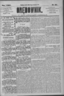 Orędownik: pismo dla spraw politycznych i społecznych 1909.09.21 R.39 Nr215