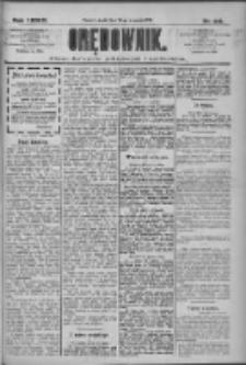 Orędownik: pismo dla spraw politycznych i społecznych 1909.09.22 R.39 Nr216