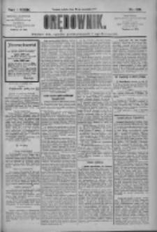 Orędownik: pismo dla spraw politycznych i społecznych 1909.09.25 R.39 Nr219