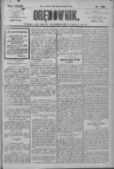 Orędownik: pismo dla spraw politycznych i społecznych 1909.09.29 R.39 Nr222