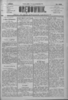 Orędownik: pismo dla spraw politycznych i społecznych 1909.10.01 R.39 Nr224