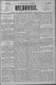 Orędownik: pismo dla spraw politycznych i społecznych 1909.10.02 R.39 Nr225