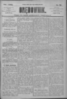 Orędownik: pismo dla spraw politycznych i społecznych 1909.10.09 R.39 Nr231
