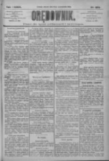 Orędownik: pismo dla spraw politycznych i społecznych 1909.10.12 R.39 Nr233