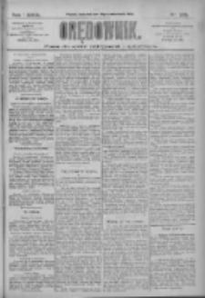 Orędownik: pismo dla spraw politycznych i społecznych 1909.10.14 R.39 Nr235