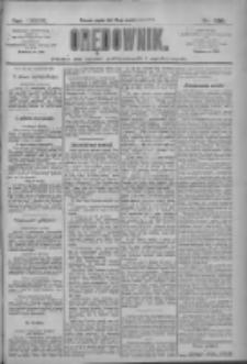 Orędownik: pismo dla spraw politycznych i społecznych 1909.10.15 R.39 Nr236
