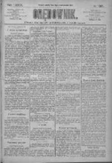 Orędownik: pismo dla spraw politycznych i społecznych 1909.10.16 R.39 Nr237