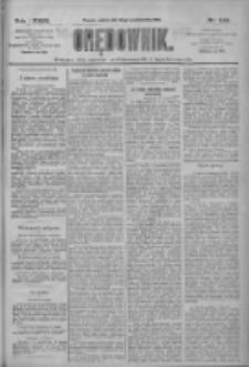 Orędownik: pismo dla spraw politycznych i społecznych 1909.10.23 R.39 Nr243