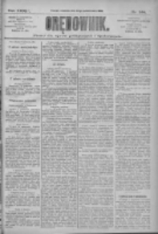 Orędownik: pismo dla spraw politycznych i społecznych 1909.10.24 R.39 Nr244