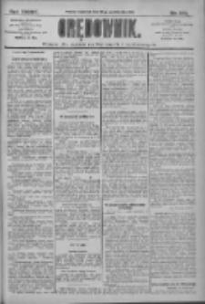 Orędownik: pismo dla spraw politycznych i społecznych 1909.10.28 R.39 Nr247