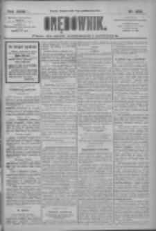 Orędownik: pismo dla spraw politycznych i społecznych 1909.10.31 R.39 Nr250