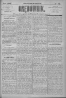 Orędownik: pismo dla spraw politycznych i społecznych 1909.11.03 R.39 Nr251
