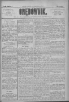 Orędownik: pismo dla spraw politycznych i społecznych 1909.11.04 R.39 Nr252