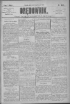 Orędownik: pismo dla spraw politycznych i społecznych 1909.11.06 R.39 Nr254