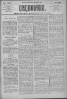 Orędownik: pismo dla spraw politycznych i społecznych 1909.11.07 R.39 Nr255