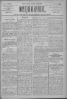 Orędownik: pismo dla spraw politycznych i społecznych 1909.11.11 R.39 Nr258