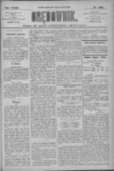 Orędownik: pismo dla spraw politycznych i społecznych 1909.11.13 R.39 Nr260