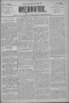 Orędownik: pismo dla spraw politycznych i społecznych 1909.11.19 R.39 Nr264