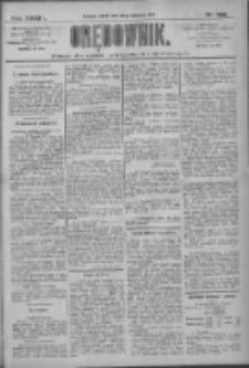 Orędownik: pismo dla spraw politycznych i społecznych 1909.11.20 R.39 Nr265