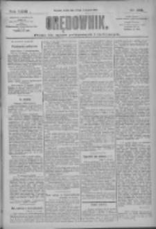 Orędownik: pismo dla spraw politycznych i społecznych 1909.11.21 R.39 Nr268