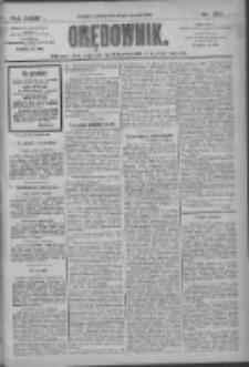 Orędownik: pismo dla spraw politycznych i społecznych 1909.11.28 R.39 Nr272