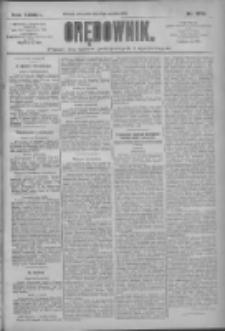 Orędownik: pismo dla spraw politycznych i społecznych 1909.12.02 R.39 Nr275
