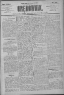Orędownik: pismo dla spraw politycznych i społecznych 1909.12.03 R.39 Nr276