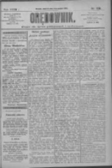 Orędownik: pismo dla spraw politycznych i społecznych 1909.12.05 R.39 Nr278