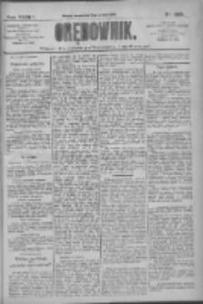 Orędownik: pismo dla spraw politycznych i społecznych 1909.12.08 R.39 Nr280