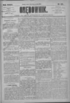 Orędownik: pismo dla spraw politycznych i społecznych 1909.12.10 R.39 Nr281