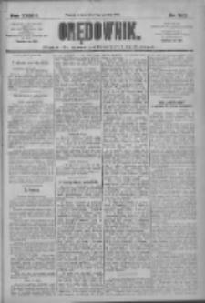 Orędownik: pismo dla spraw politycznych i społecznych 1909.12.11 R.39 Nr282