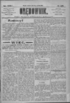 Orędownik: pismo dla spraw politycznych i społecznych 1909.12.19 R.39 Nr289