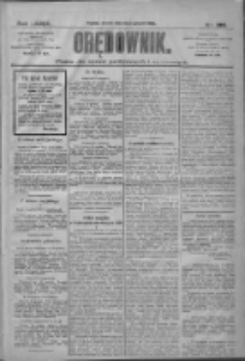 Orędownik: pismo dla spraw politycznych i społecznych 1909.12.28 R.39 Nr295