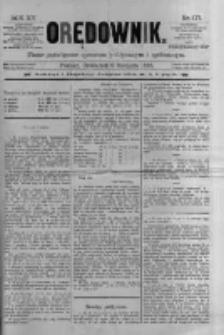 Orędownik: pismo poświęcone sprawom politycznym i spółecznym 1885.08.06 R.15 Nr177