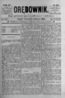 Orędownik: pismo poświęcone sprawom politycznym i spółecznym 1885.08.13 R.15 Nr183