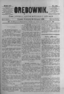 Orędownik: pismo poświęcone sprawom politycznym i spółecznym 1885.08.23 R.15 Nr191