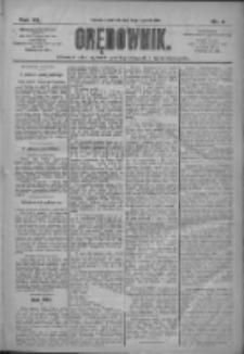 Orędownik: pismo dla spraw politycznych i społecznych 1910.01.06 R.40 Nr4