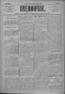Orędownik: pismo dla spraw politycznych i społecznych 1910.01.08 R.40 Nr5