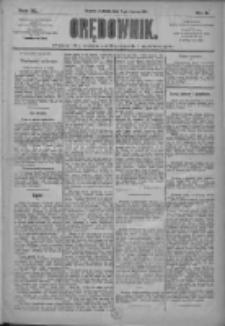 Orędownik: pismo dla spraw politycznych i społecznych 1910.01.09 R.40 Nr6