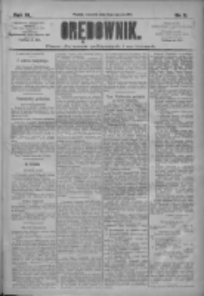 Orędownik: pismo dla spraw politycznych i społecznych 1910.01.13 R.40 Nr9