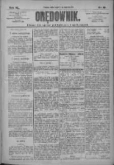 Orędownik: pismo dla spraw politycznych i społecznych 1910.01.14 R.40 Nr10