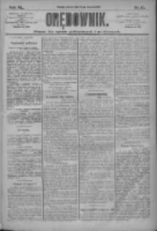 Orędownik: pismo dla spraw politycznych i społecznych 1910.01.18 R.40 Nr13
