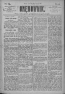 Orędownik: pismo dla spraw politycznych i społecznych 1910.01.19 R.40 Nr14