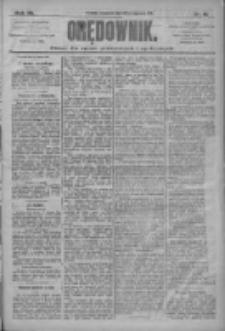 Orędownik: pismo dla spraw politycznych i społecznych 1910.01.20 R.40 Nr15