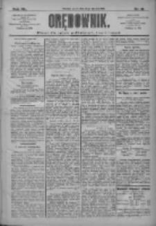 Orędownik: pismo dla spraw politycznych i społecznych 1910.01.21 R.40 Nr16