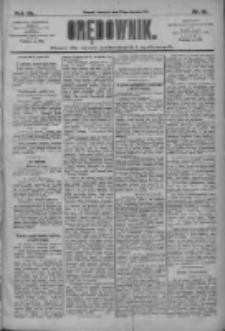 Orędownik: pismo dla spraw politycznych i społecznych 1910.01.23 R.40 Nr18