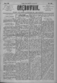 Orędownik: pismo dla spraw politycznych i społecznych 1910.01.26 R.40 Nr20