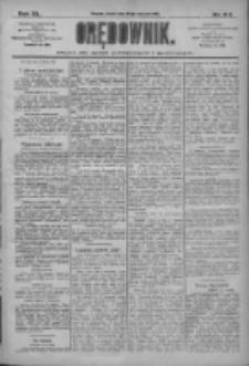 Orędownik: pismo dla spraw politycznych i społecznych 1910.01.28 R.40 Nr22